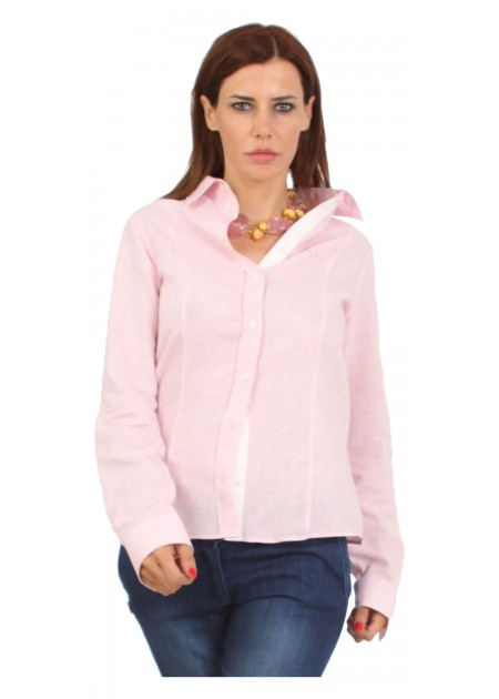Woman Linen Comfort Pink