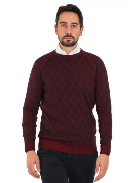 Kazak - Fox Season Pullover - Bordo