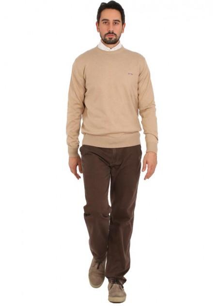 Kazak - Casual Autumn Pullover - Taş