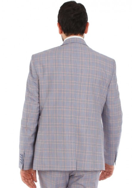 Ekose Takım Elbise - A1