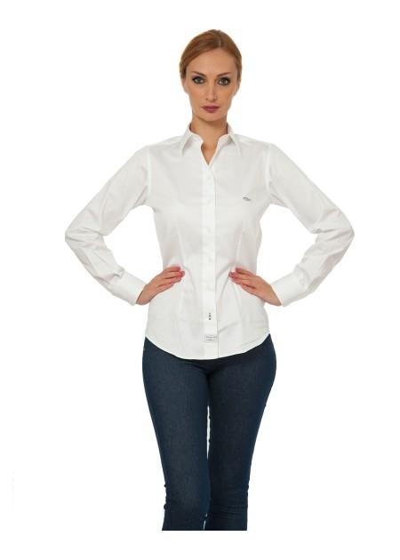 Dar Kesim Gömlek - Beyaz