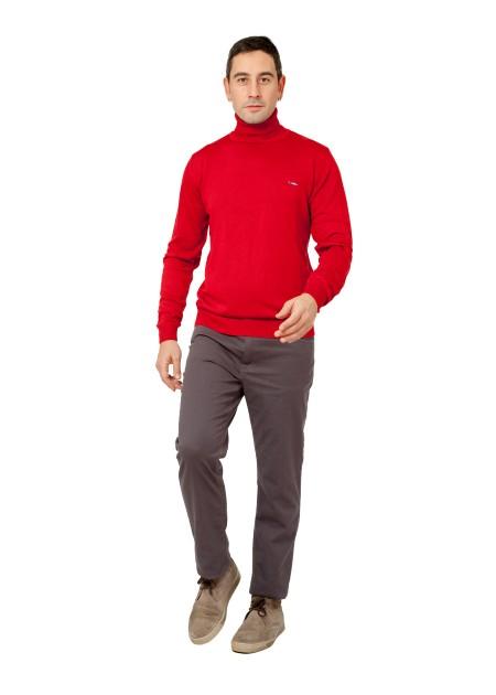 Kazak - Hard Winter Pullover - Kırmızı