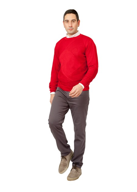Kazak - Hot way Pullover - Kırmızı